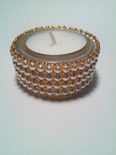Bead Jewellery, Jewelry, Beaded Boxes, Diy Crafts For Gifts, Tea Lights, Christmas Crafts, Beading, Handmade Crafts, Beads