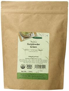 Davidson's Tea Bulk, Gunpowder Green, Bag at Health and Personal Care Product Search - tightly rolled pellet shaped green tea from china with a strong deep flavor Numi Organic Tea, Organic Herbal Tea, Organic Green Tea, Herbal Teas, Best Green Tea, Tea Powder, Green Powder, Tea Brands, Milk Tea