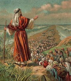 Moses Parts the Red Sea - Credit: Providence Lithograph Company