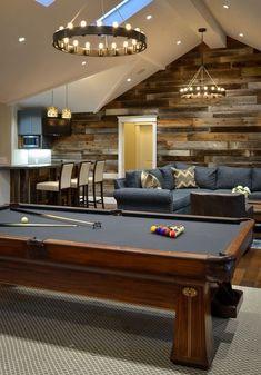 Game Room Decor, Room Setup, Man Cave Game Room Ideas, Game Room Bar, Game Rooms, Wall Decor, Granny Pods, Granny Granny, Retro Game