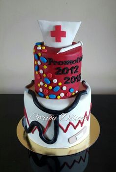 Cake infirmière