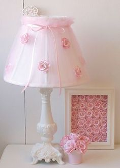 "Image detail for -This dreamy bell-shaped lamp-shade measures 10"" in diameter at the ..."