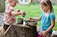 Os espaços devem ser verdes, com gramado, plantas e playground, para atrair as crianças (foto: G2G Outside)