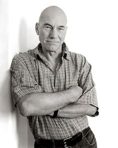 Patrick Stewart by Andy Gotts Hollywood Actor, Hollywood Stars, Celebrity Portraits, Martin Schoeller, Actors & Actresses, British Actors, British People, Andy Gotts, Ian Mckellen