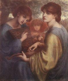 Dante Gabriel Rossetti The Bower Meadow