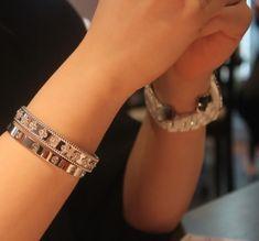 VCA Perlee & Cartier Love bracelet stack - PurseForum