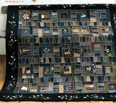 """""""パッチワークキルト」通信"""" Textile Fiber Art, Fibre Art, Victorian Quilts, Yoko Saito, Wool Quilts, Yarn Stash, Panel Quilts, Ribbon Embroidery, Japanese Culture"""