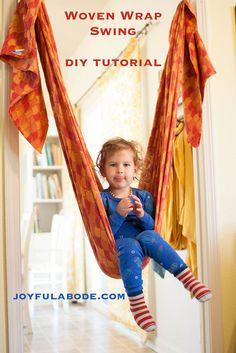 Woven Wrap Swing - Winning Mom of the Year - Joyful Abode