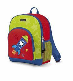 Crocodile Creek Backpacks - Rocket Backpack W x H Backpacks For Sale, Cute Backpacks, Crocodile, School Items, School Daze, Bible For Kids, Baby Gear, Travel Style, Bag Storage