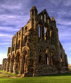 Whitby Abbey, England: