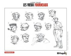 les-vieux-fourneaux-lupano-cauuet-recherches-personnages.jpg (671×538)