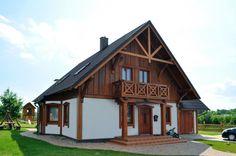 domy drewno elewacja - Szukaj w Google