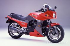 1984 Kawasaki Ninja 900 studio shot