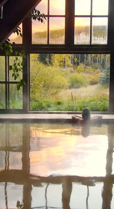 #Jetsetter Daily Moment of Zen: Dunton Hot Springs Resort in Dolores, #Colorado