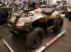 Product Review Of Honda Fourtrax rincon ATV @ http://www.atvjunction.com/