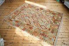 8x10 New Kilim Carpet
