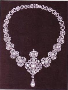 """la reine angleterre Le collier (""""Queen Victoria's Golden Jubilee Necklace """")"""