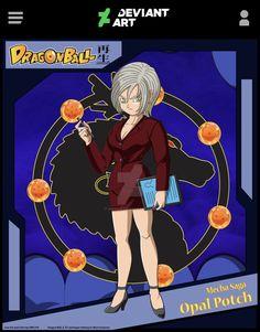 Opal Potch (Mecha Saga) by on DeviantArt Dbz Multiverse, Character Art, Character Design, Ball Drawing, Anime Artwork, Anime Characters, Fictional Characters, Dragon Ball Z, Pokemon