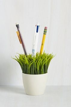 "A ""garden"" for your writing utensils."