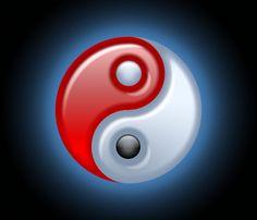 Ying Yang Sign, Ying Y Yang, Yin Yang Art, Yin Yang Significado, Feng Shui, Yen Yang, Peace Sign Tattoos, Yin Yang Balance, Tarot