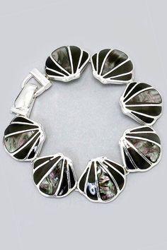 Abalone Inlaid Bracelet