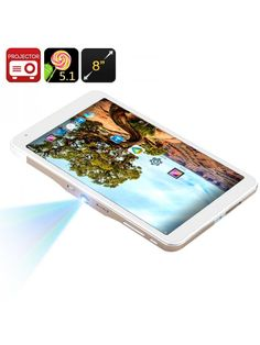 Android Tablet PC + Mini Projector – The King's Cave Tablet 7, Electronics Gadgets, Stylus, Cool Gadgets, Pu Leather, Android, Mini, Projects, Cave