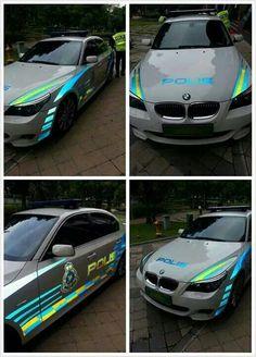 Malaysian Cop Car