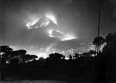 Fire on Lions Head, 1947.