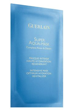 Guerlain Super-Aqua Intensive Mask: one of Dior Beauty Public Relations Director Bryn Kenny's favorite products