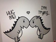 T-Rex Couple