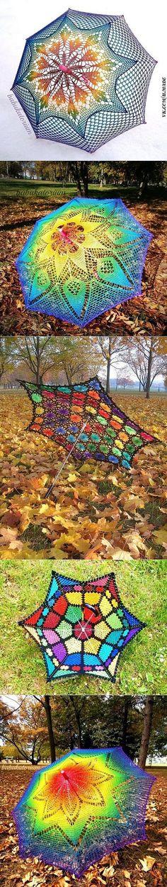 ombrelli a maglia
