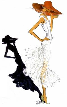 #illustration #art #design #print #inspiration #FashionIllustration #FashionPrint #VogueAnimation #TiffanyBlue