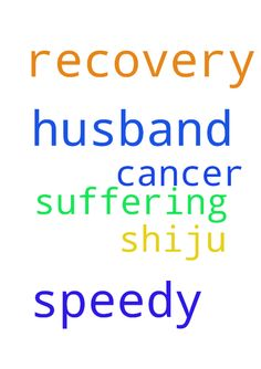 PRAYER FOR speedy recovery of my husband - PRAYER FOR speedy recovery of my husband shiju suffering from cancer Posted at: https://prayerrequest.com/t/GRm #pray #prayer #request #prayerrequest