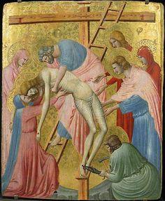 Pietro da Rimini, La déposition de croix - Musée du Louvre