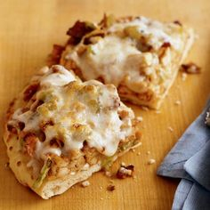Barbecued Chicken Pizza - Romantic Dinner Idea for Two