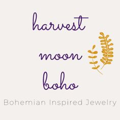 Bohemian Inspired Jewelry by HarvestMoonBoho on Etsy Etsy Seller, Bohemian, Inspired, Trending Outfits, Unique Jewelry, Handmade Gifts, Kid Craft Gifts, Craft Gifts, Costume Jewelry