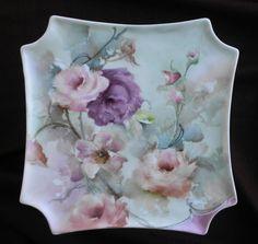 Artist: Celee Evans Porcelain plate