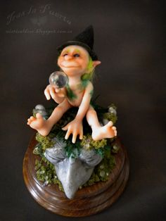 The Elf of dreams. Ooak and Fantasy creations by Silver Berry.  https://www.etsy.com/listing/171015498/the-elf-of-dreams-fae-creations-ooak-and?ref=shop_home_active_11