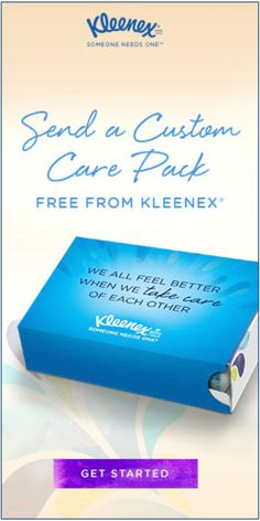 Send a #FREE personalized #Kleenex Care Pack. #sharekleenexcare #freeswagfromezswag #freebies #freestuff #havefun http://kleenex.com/messagesofcare