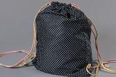 Tutoriel de couture gratuit sac de gym sur tissus.net