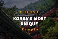 We've been to dozens, if not hundreds, of Buddhist temples across this peninsula, and we've finally found the most unique temple in all of South Korea! There are beautiful temples with varied architecture in different corners of this country, but Guinsa stands head and shoulders above the rest for many reasons. Tucked back in the