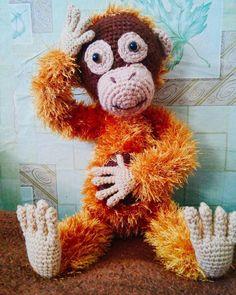 Просматривала фотки....и....вот оно рыжее чудо.... #амигуруми #вяжутнетолькобабушкиноимамочки #вязание #вязаниекрючком #вязаниеназаказ #ручнаяработа #символгода #обезьяна #хендмейд #amigurumi #handmade #manky #crochet #crocheting #toys by t.koppel_red_cat