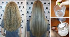 See How She's Straightening Her Hair Naturally With Some Ingredients You Have At Home