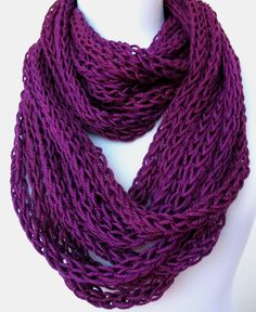 10 OFF SALE Scarf necklace  loop scarf  infinity by DreamList, $54.00