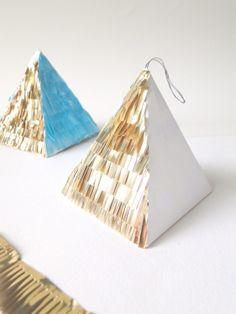 DIY 'Confetti System' Ornaments