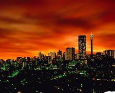 Johannesburg, Gauteng Province, South Africa, 1,600m above sea level - Egoli, city of gold...