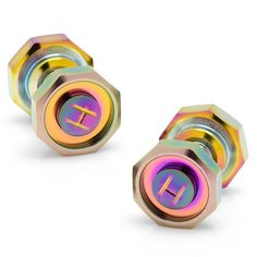 Octagonal Adjustable Scarab Cufflinks
