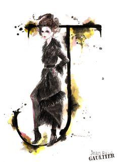 The A-Z of Fashion by Natalia Jheté - Jean Paul Gaultier