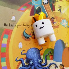 adventures of beekle and marshmallow craft