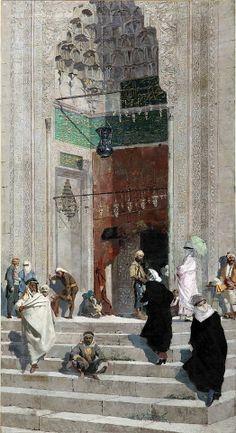 Osman Hamdi Bey - Cami Önü